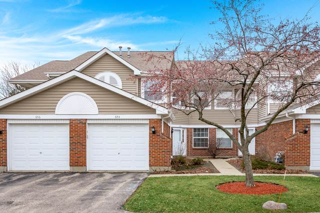 654 W Happfield Drive 1919C, Arlington Heights, IL 60004 (MLS #10667337) :: BN Homes Group