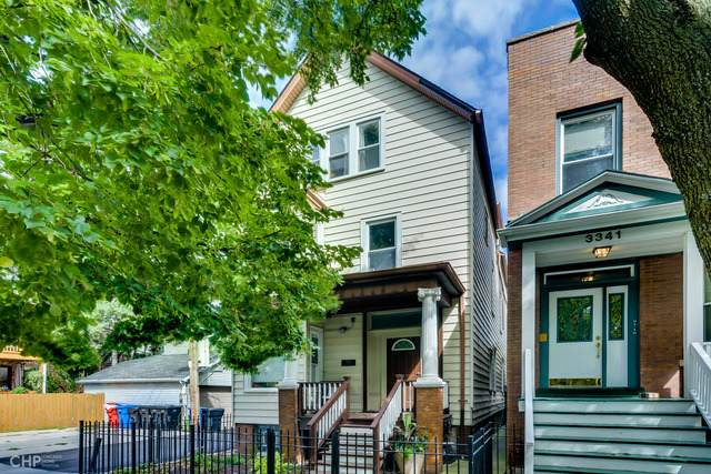 3343 N Bell Avenue #3, Chicago, IL 60618 (MLS #10671320) :: Angela Walker Homes Real Estate Group