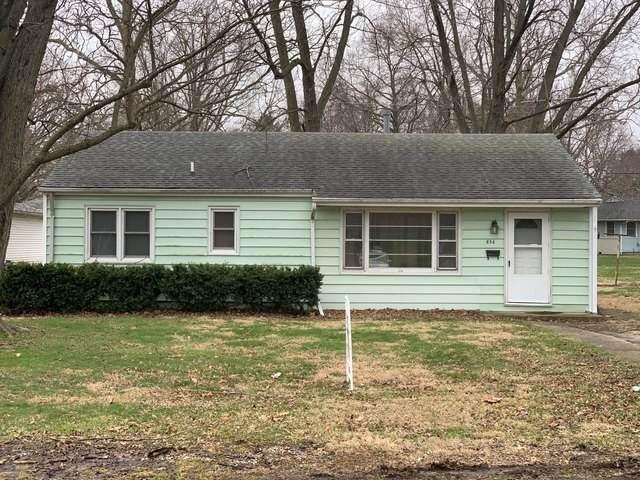 856 E Patton Street, Paxton, IL 60957 (MLS #10671741) :: Ryan Dallas Real Estate