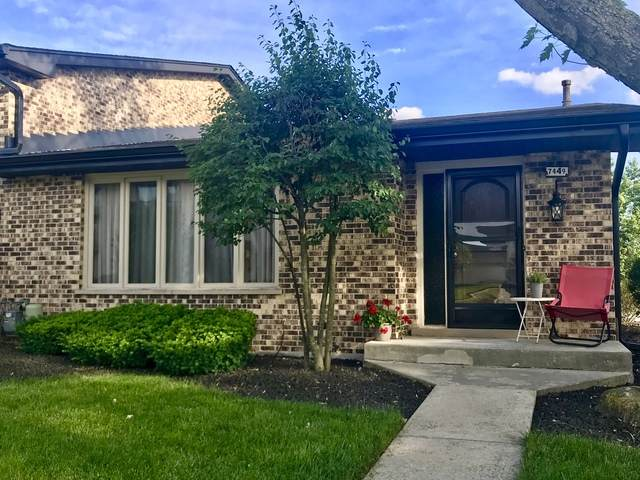 7449 W 153rd Street #54, Orland Park, IL 60462 (MLS #10673118) :: Helen Oliveri Real Estate