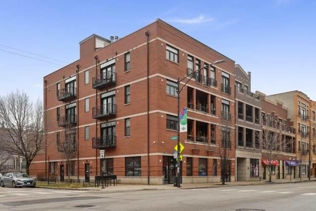 3205 N Hoyne Avenue 1B, Chicago, IL 60618 (MLS #10673658) :: Angela Walker Homes Real Estate Group
