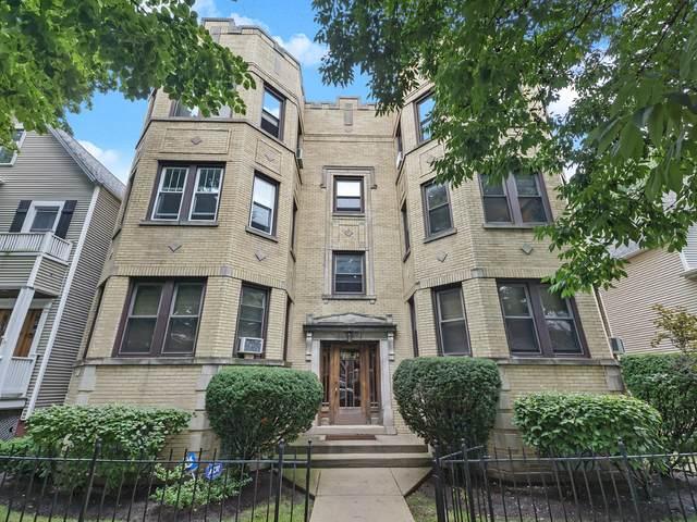 3314 N Oakley Avenue #2, Chicago, IL 60618 (MLS #10674409) :: Angela Walker Homes Real Estate Group