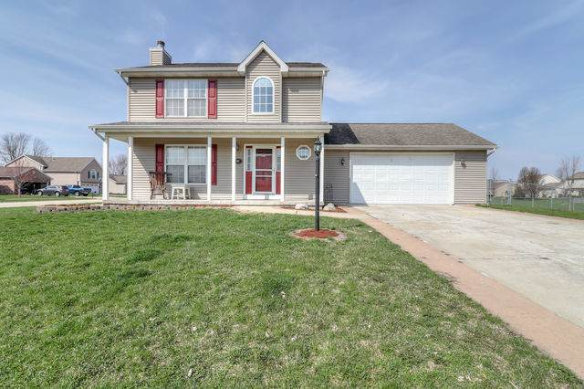 302 Windstone Drive, TOLONO, IL 61880 (MLS #10675220) :: Ryan Dallas Real Estate