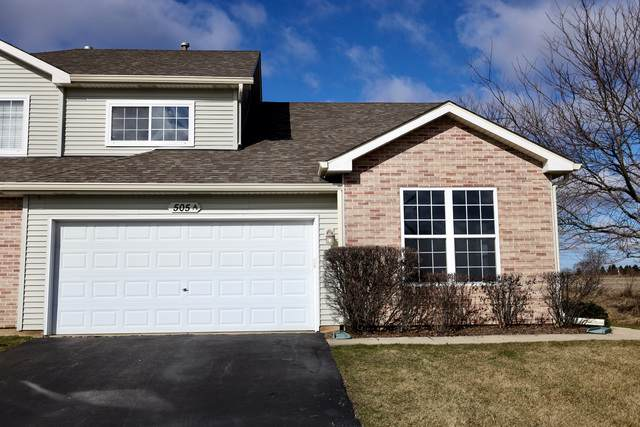 505 Glen Drive A, Sugar Grove, IL 60554 (MLS #10675695) :: Touchstone Group