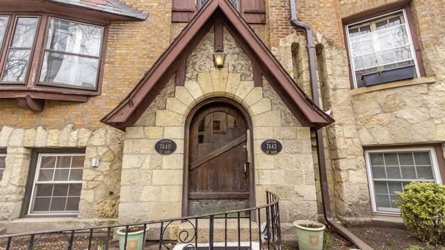 7442 N Hoyne Avenue 2N, Chicago, IL 60645 (MLS #10677059) :: John Lyons Real Estate