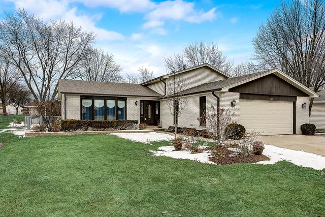 1007 Spring Cove Drive, Schaumburg, IL 60193 (MLS #10677477) :: The Wexler Group at Keller Williams Preferred Realty