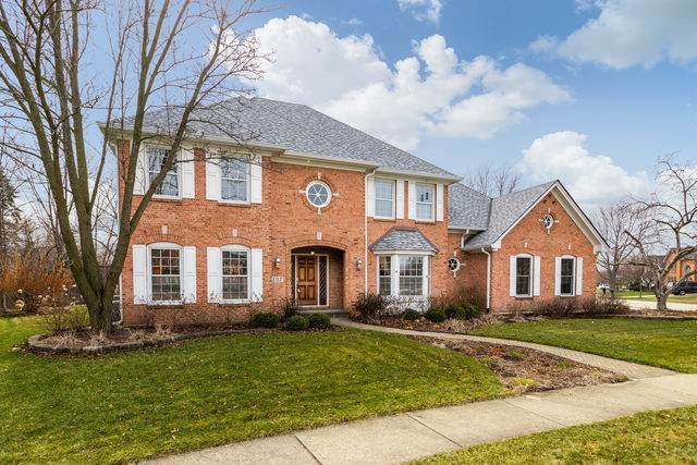 107 Hawkins Circle, Wheaton, IL 60189 (MLS #10677551) :: Berkshire Hathaway HomeServices Snyder Real Estate