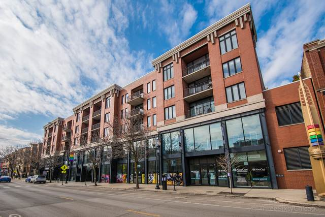 3232 N Halsted Street D710, Chicago, IL 60657 (MLS #10677784) :: Property Consultants Realty
