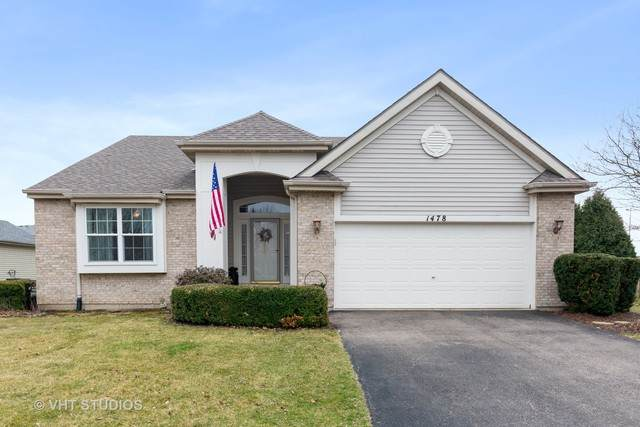 1478 Hawksley Lane, North Aurora, IL 60542 (MLS #10677888) :: Touchstone Group