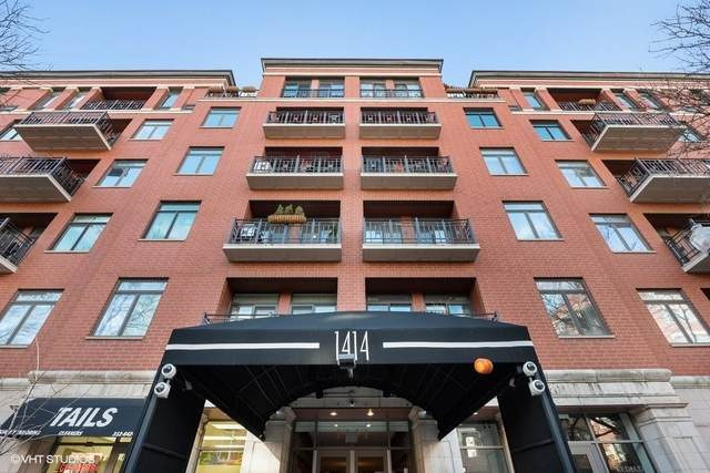 1414 N Wells Street #201, Chicago, IL 60610 (MLS #10677901) :: Littlefield Group
