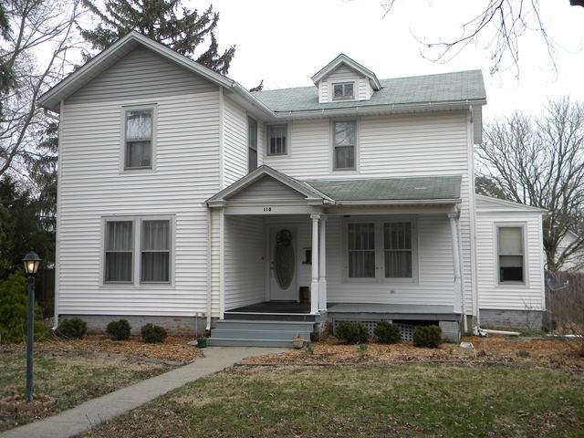 110 N Poplar Street, Onarga, IL 60955 (MLS #10678131) :: Lewke Partners