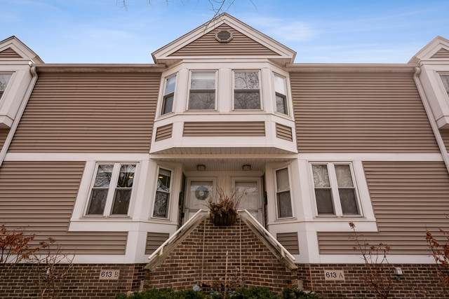 613 Custer Avenue B, Evanston, IL 60202 (MLS #10678185) :: Lewke Partners