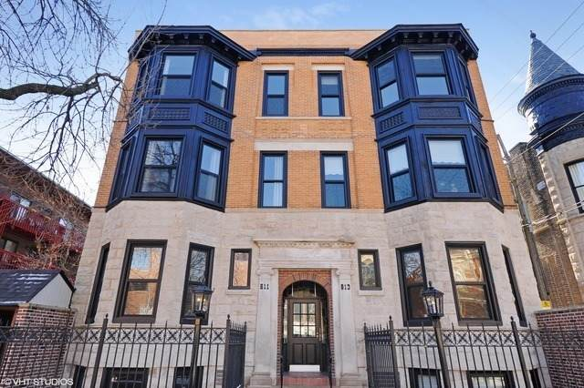 813 W Oakdale Avenue #3, Chicago, IL 60657 (MLS #10678390) :: Property Consultants Realty