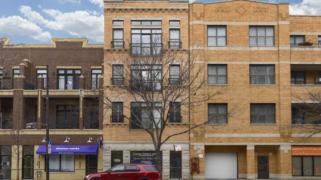 2046 W Belmont Avenue #3, Chicago, IL 60618 (MLS #10678695) :: Angela Walker Homes Real Estate Group