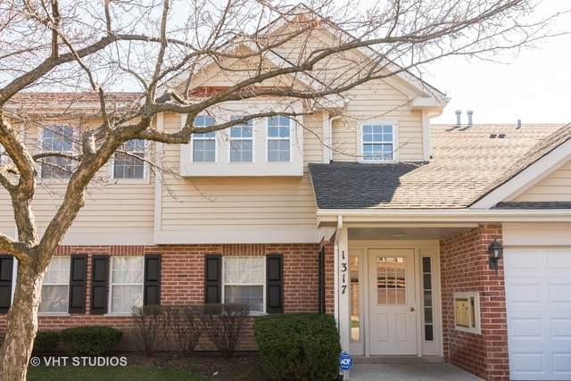 1317 E Evergreen Drive #7, Palatine, IL 60074 (MLS #10679650) :: Jacqui Miller Homes