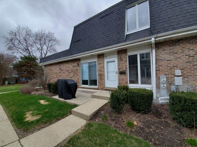 424 Sunnybrook Lane 25-D, Wheaton, IL 60187 (MLS #10679769) :: Helen Oliveri Real Estate