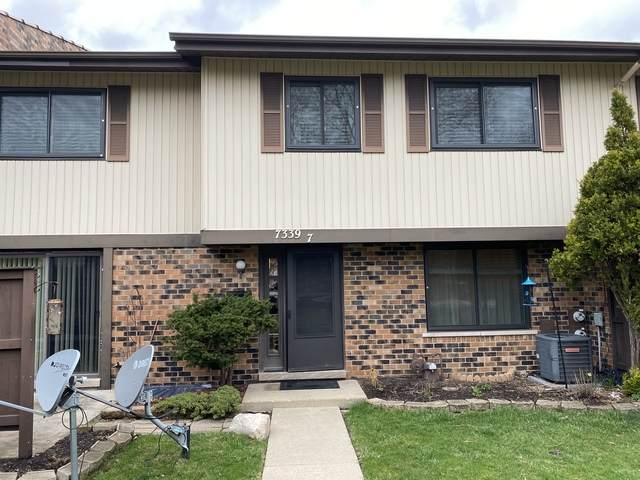 7339 Winthrop Way #7, Downers Grove, IL 60516 (MLS #10679892) :: The Wexler Group at Keller Williams Preferred Realty