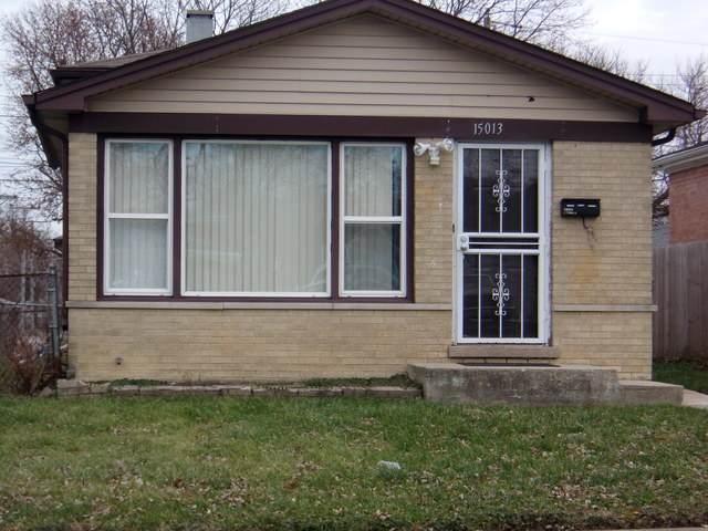 15013 Seeley Avenue, Harvey, IL 60426 (MLS #10680741) :: Helen Oliveri Real Estate