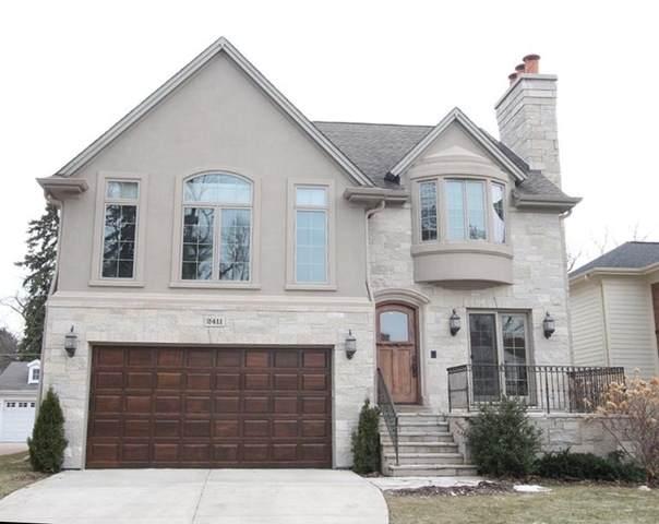 2411 Greenwood Avenue, Wilmette, IL 60091 (MLS #10681225) :: Helen Oliveri Real Estate