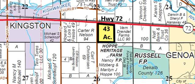 43 acres State Hwy 72, Kingston, IL 60145 (MLS #10681811) :: Property Consultants Realty
