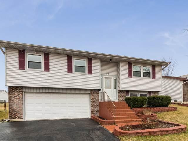 33 W Schubert Avenue, Glendale Heights, IL 60139 (MLS #10683257) :: The Dena Furlow Team - Keller Williams Realty