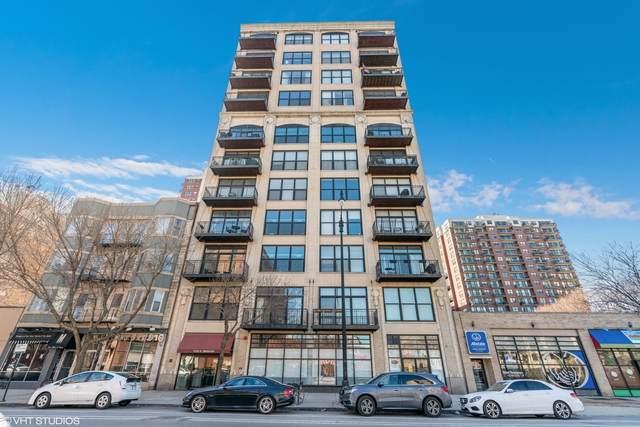 1516 S Wabash Avenue #706, Chicago, IL 60605 (MLS #10683263) :: The Mattz Mega Group