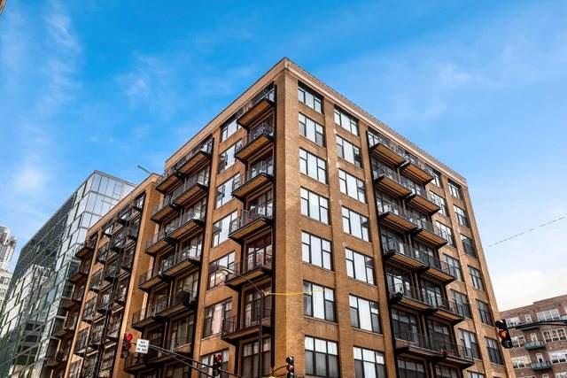 625 W Jackson Boulevard #208, Chicago, IL 60661 (MLS #10683339) :: Ryan Dallas Real Estate