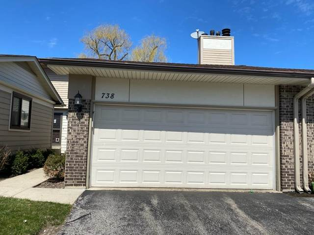 738 Grouse Court #738, Deerfield, IL 60015 (MLS #10683459) :: Property Consultants Realty