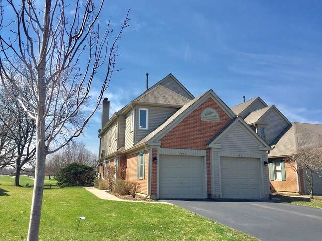 268 University Lane A, Elk Grove Village, IL 60007 (MLS #10683477) :: Berkshire Hathaway HomeServices Snyder Real Estate
