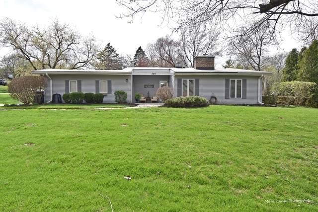 846 Hemlock Drive, Sleepy Hollow, IL 60118 (MLS #10683643) :: Knott's Real Estate Team