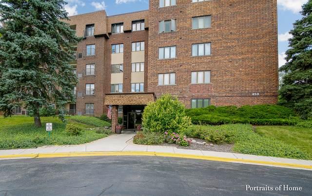 453 Raintree Drive 4N, Glen Ellyn, IL 60137 (MLS #10684455) :: Property Consultants Realty
