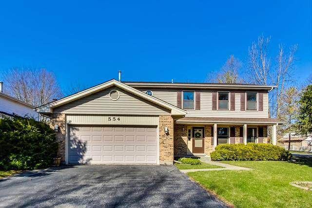 554 Briarwood Drive, Wheeling, IL 60090 (MLS #10684871) :: Helen Oliveri Real Estate