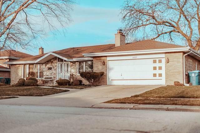 16927 Greenwood Avenue, South Holland, IL 60473 (MLS #10684889) :: The Dena Furlow Team - Keller Williams Realty
