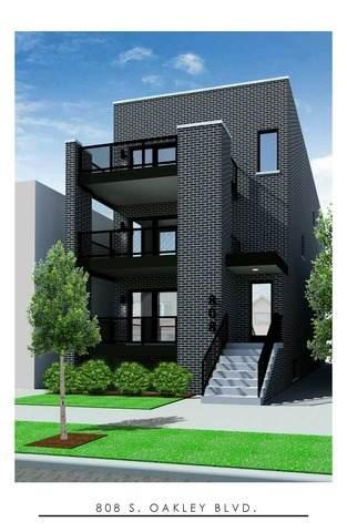 808 S Oakley Boulevard 1W, Chicago, IL 60612 (MLS #10685604) :: Helen Oliveri Real Estate
