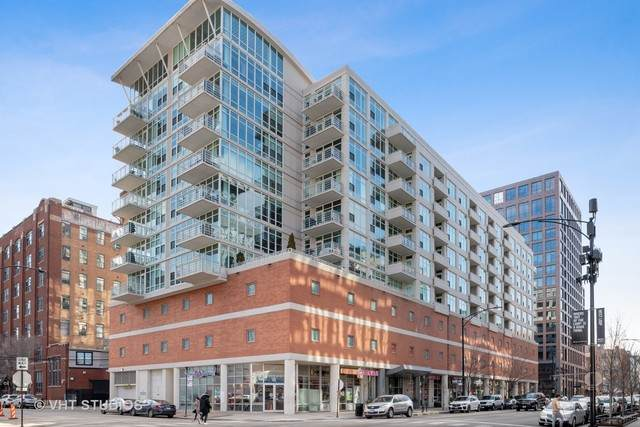 909 W Washington Boulevard #806, Chicago, IL 60607 (MLS #10685619) :: Property Consultants Realty