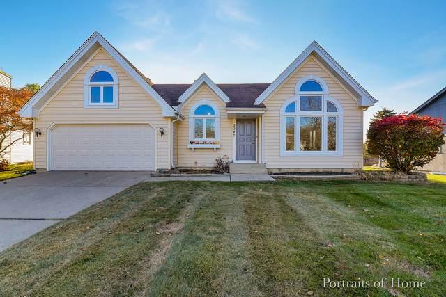 2247 Lakeside Drive, Aurora, IL 60504 (MLS #10685769) :: The Dena Furlow Team - Keller Williams Realty