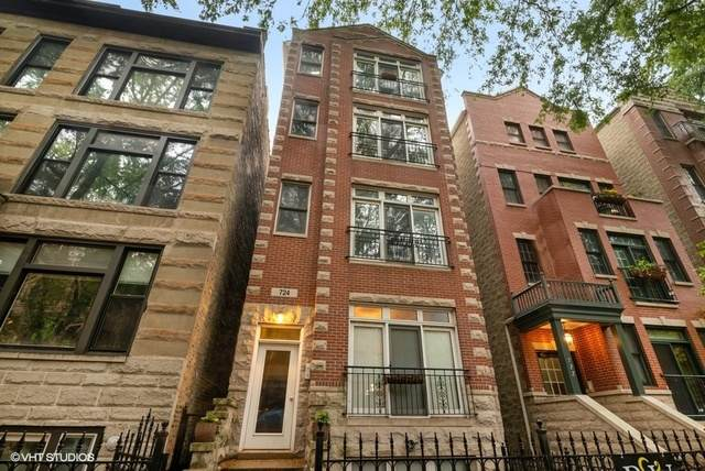 724 W Briar Place #2, Chicago, IL 60657 (MLS #10686099) :: John Lyons Real Estate