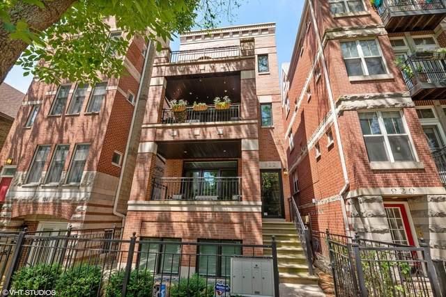 922 W Wolfram Street #2, Chicago, IL 60657 (MLS #10686318) :: John Lyons Real Estate