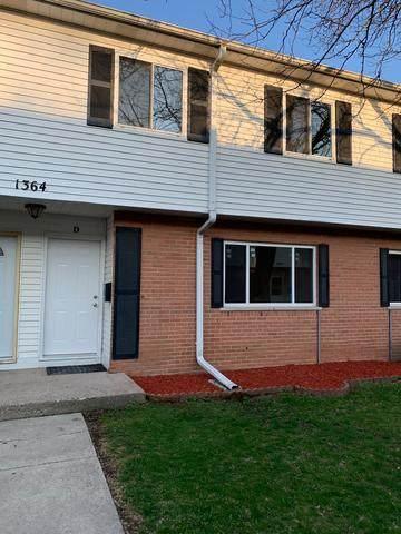 1364 Monomoy Street D, Aurora, IL 60506 (MLS #10686383) :: The Dena Furlow Team - Keller Williams Realty