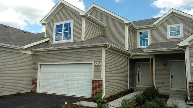202 Dorset Avenue, Oswego, IL 60543 (MLS #10686526) :: The Dena Furlow Team - Keller Williams Realty