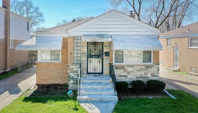 12712 S Elizabeth Street, Calumet Park, IL 60827 (MLS #10694135) :: Property Consultants Realty