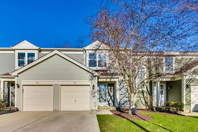 7541 Wedgewood Drive, Hanover Park, IL 60133 (MLS #10698306) :: Property Consultants Realty