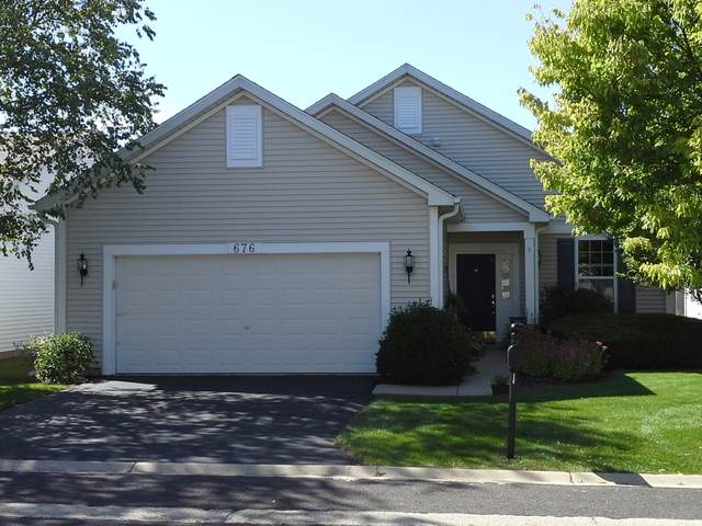 676 S Wellston Lane, Romeoville, IL 60446 (MLS #10702665) :: John Lyons Real Estate