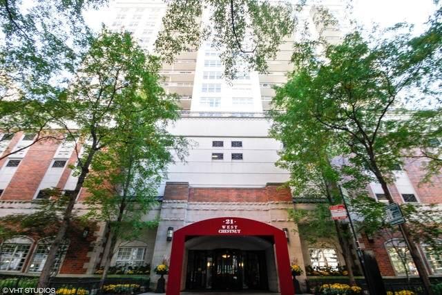 21 W Chestnut Street #1105, Chicago, IL 60610 (MLS #10705194) :: John Lyons Real Estate