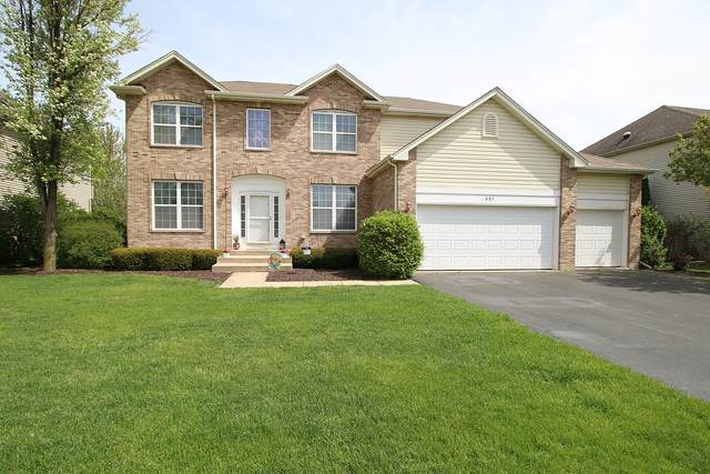 597 Arrowhead Drive, Yorkville, IL 60560 (MLS #10706783) :: The Wexler Group at Keller Williams Preferred Realty