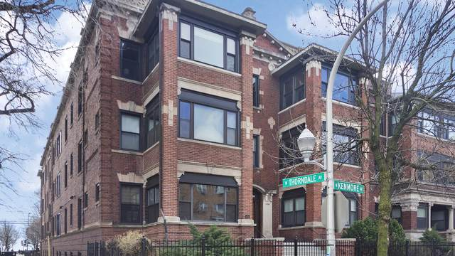 5927 N Kenmore Avenue #3, Chicago, IL 60660 (MLS #10708616) :: Suburban Life Realty