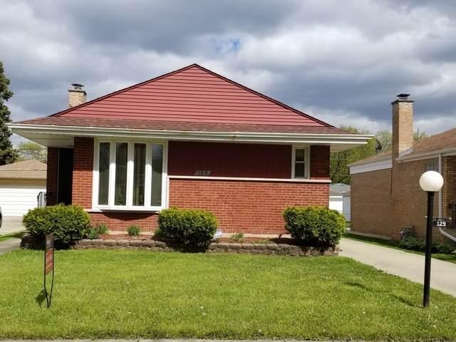 129 Rice Avenue, Bellwood, IL 60104 (MLS #10714030) :: Littlefield Group