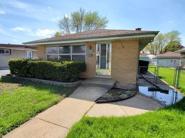 416 51st Avenue, Bellwood, IL 60104 (MLS #10715025) :: Littlefield Group