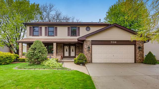 706 Stratford Drive, Schaumburg, IL 60193 (MLS #10716212) :: Property Consultants Realty