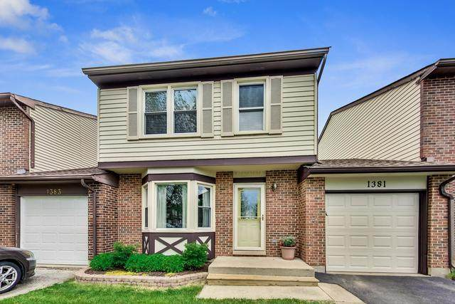 1381 Georgetown Drive, Carol Stream, IL 60188 (MLS #10716330) :: Property Consultants Realty